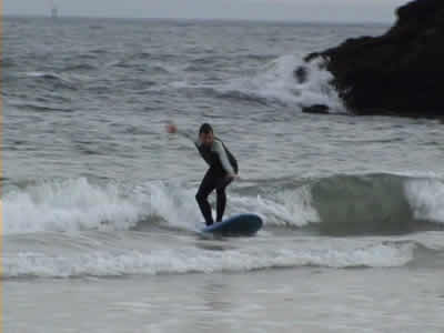 Meco February 2008 surfing Rob
