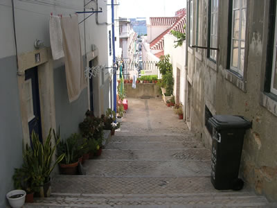 Lisbon Rua Fernandes Tomas