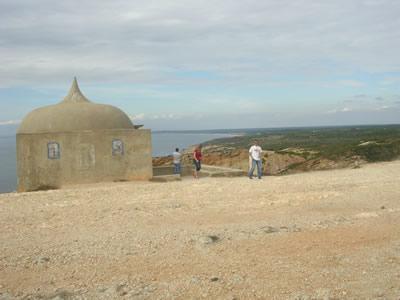 Cabo da Roca view on Meco beach
