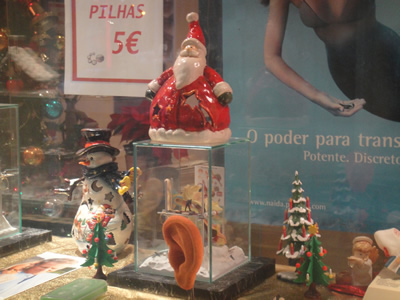 Remarkable window dressing Lisbon hearing aid