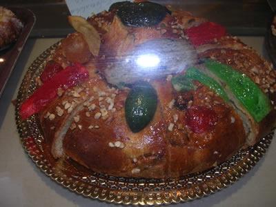 Christmas cake Bolo Rei Lisbon