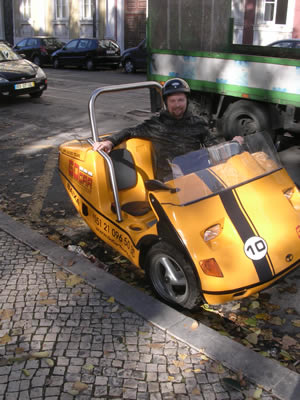 GoCar Lisbon Rob Plews near Park Principe Real