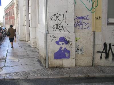 Pessoa drawing Travessa do Sequeiro