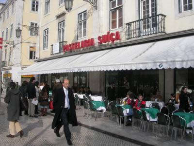 Lisbon Patelaria Suica Rossio