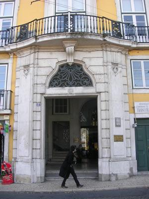 Lisbon Instituto do vinho do porto Bairro Alto