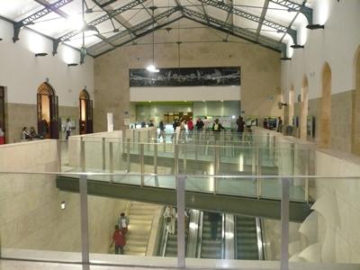 Lisbon Station Rossio inside