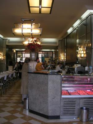 Lisbon cafe Nicola Rossio Square
