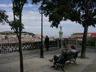 Lisbon Miradouro de São Pedro de Alcântara