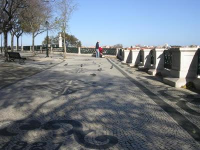 Bairro Alto Lisbon Miradouro de São Pedro de Alcântara