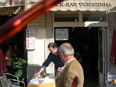 Lisbon Praca da Figueira Pastelaria a Videirinho