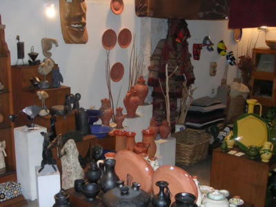 Portuguese traditional handicraft shop Santos Oficios inside5