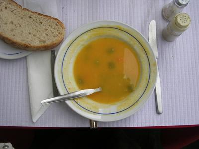 Lisbon Praca da Figueira Pastelaria A Videirinha sopa soup