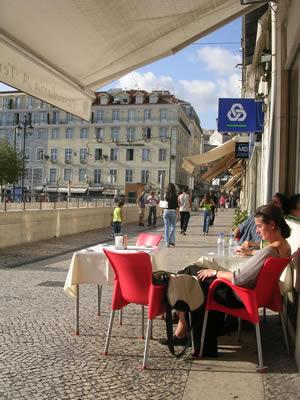 Lisbon Praca da Figueira Pastelaria Montacao Praca da Figeira1