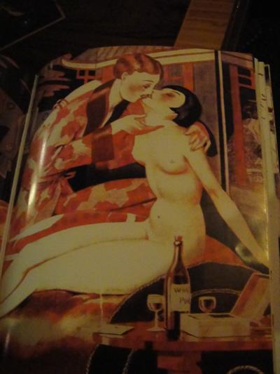 Lisbon Pavilhao Chines naked woman menu book