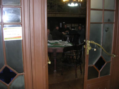 Lisbon Casa do Alentejo 7 Restaurant library