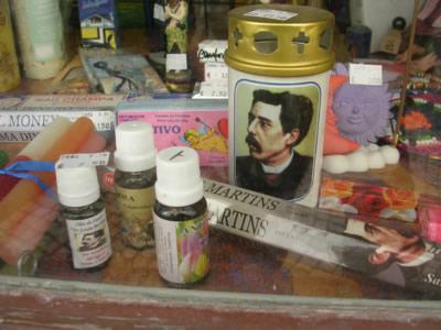 Lisbon dr Sousa Martins wax candles small shops