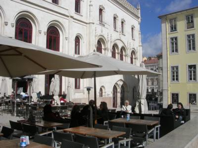 Lisbon Largo Duque Cadaval Rossio Station3