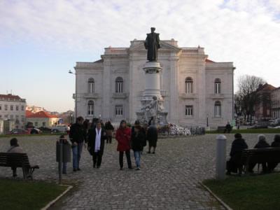 Lisbon Monument Dr Sousa Martins Campo de Santana10