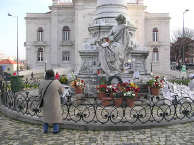 Lisbon Monument Dr Sousa Martins Campo de Santana1