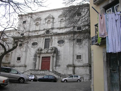 Walking around Bairro Castelo Rua dos Frois