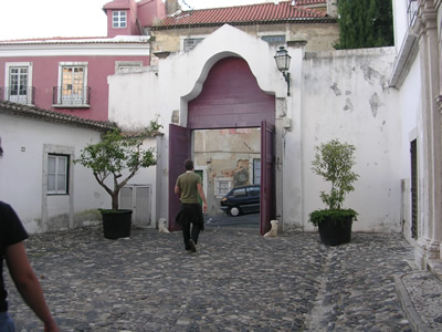 Walking around near Castelo Sao Jorge Rob Plews