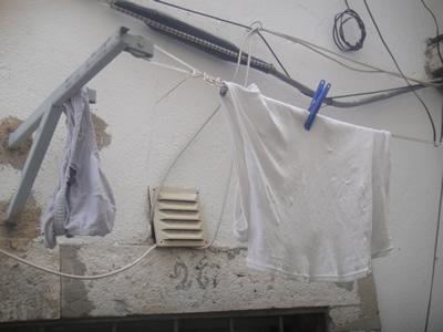Hanging laundry Alfama