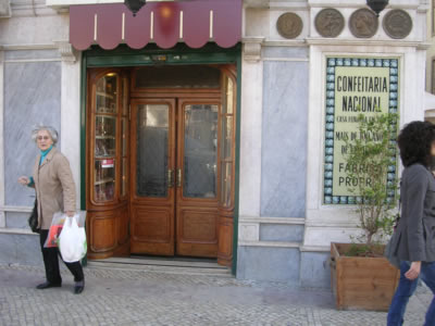 Confeitaria Nacional, Lisbon's oldest Confectionary, once supplier of the Royal Family4