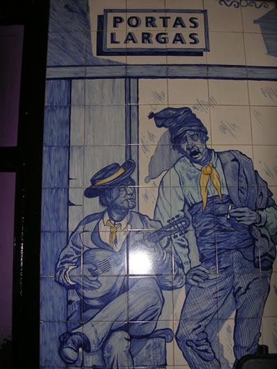 Gay Portas Largas Lisbon Bairro Alto azulejos