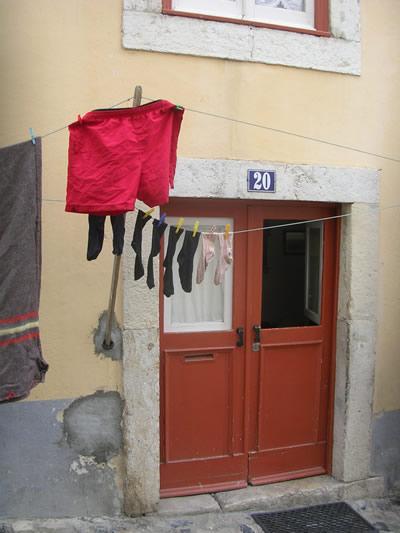 Lisbon Laundry Castelo
