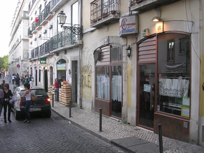 Restaurant A Camponesa Santa Catarina cheap traditional Portuguese kitchen
