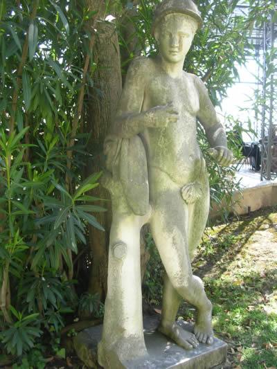 Terrace Museu Nacional de Arta Antigua Sculpture