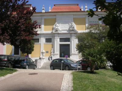 National Museum Nacional de Arta Antigua Lisbon entrance