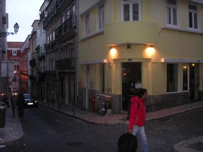 ... 'Les Mauvais Garçons' Bairro Alto Lisbon & owner David García González