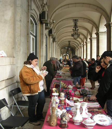 Flea market Praca do Comercio Sundays2