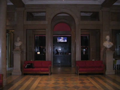 National Theatre Dona Maria Rossio Lisbon hall