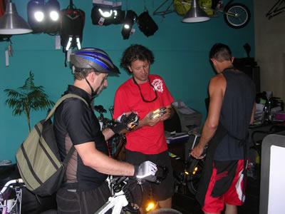 Bikeiberia rent a bike in Lisbon 2 Didier at work biker 2
