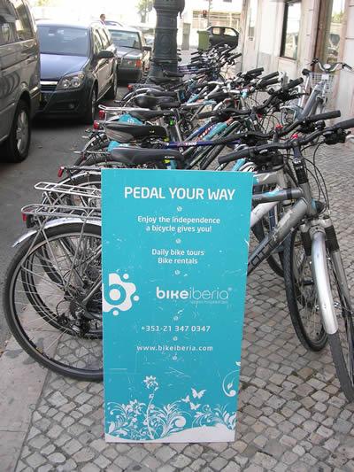 Bikeiberia rent a bike in Lisbon street bikes Pedal your way