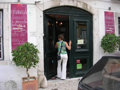 Lisbon Restaurant Clube de Jornalistas Rua das Trinas