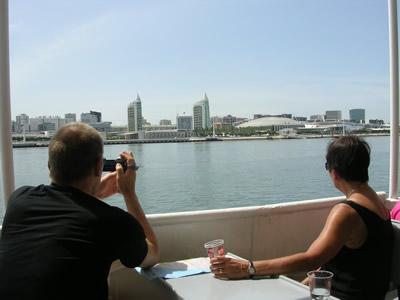 Lisbon 3 hrs Cruise trip Tagus river traditional boat Cacilheiro Expo