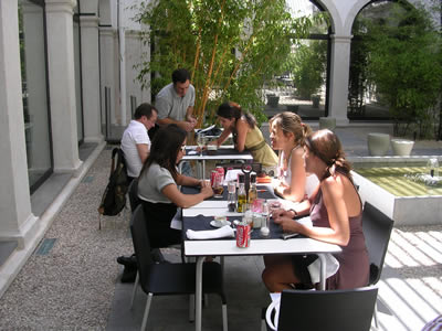 Restaurant Cafetaria Casa da Comida garden Sao Roque Museum20