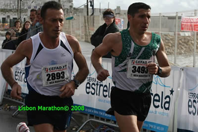 Lisbon Marathon December 2006 runners