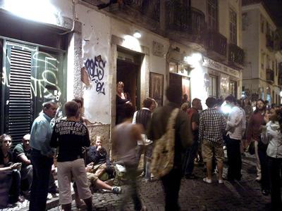 Lisbon Bairro Alto nightlife Rene