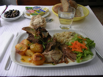 Lisbon Casa da India restaurant near Bairro Alto meia dose