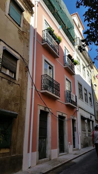 Vila Mouraria casa rosa 2015 Setembro 2