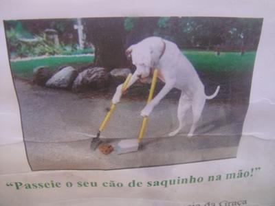 Poster near Miradouro da Graca Lisbon
