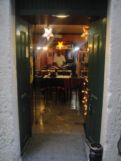 Lisbon Tentacoes Goa Entree Rua Pedro Martir 23