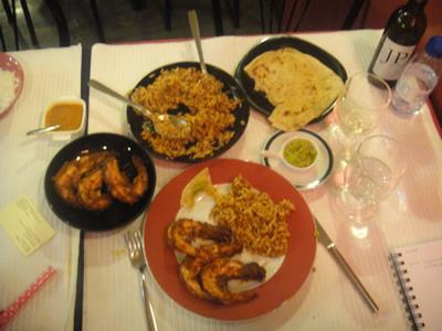 Lisbon Tentacoes Goa food3