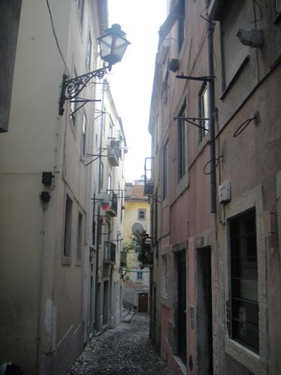 Lisbon Tentacoes Goa street by day Roa Pedro Martir6