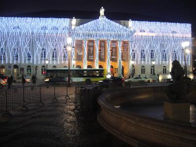 Lisbon Christmas 2009 Theatre Dona Maria
