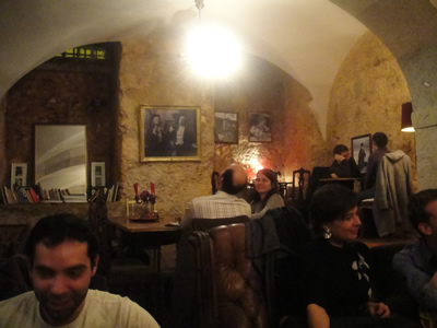 Fabulas restaurant cafe gallery Joanna Latka Lisbon